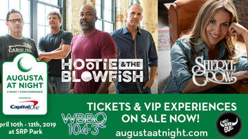 None - Augusta At Night with HOOTIE & THE BLOWFISH + SHERYL CROW!