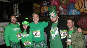 Photos - WMMS St. Patrick's Day Run in Cleveland Sunday March 17th