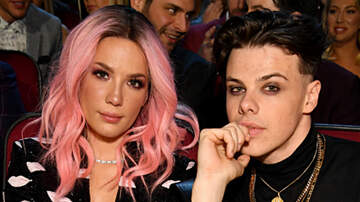Trending - YUNGBLUD Brought The Xmas Gift Halsey Gave Him To iHeartRadio Music Awards