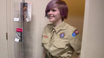 National News - Boy Scouts Buy New Uniforms For First Girls To Join Their Troop