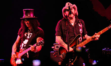 Music News - Slash Didn't Care That Lemmy Hit On His Girlfriend The First Time They Met