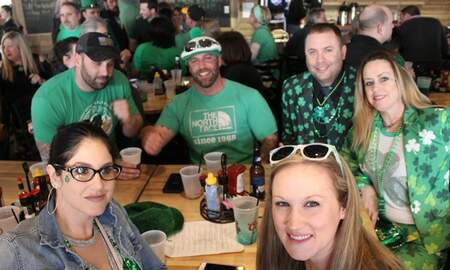 Fast Freddie - WOLF PHOTO GALLERY FROM ST. PADDY'S DAY AT MAGIC TREE