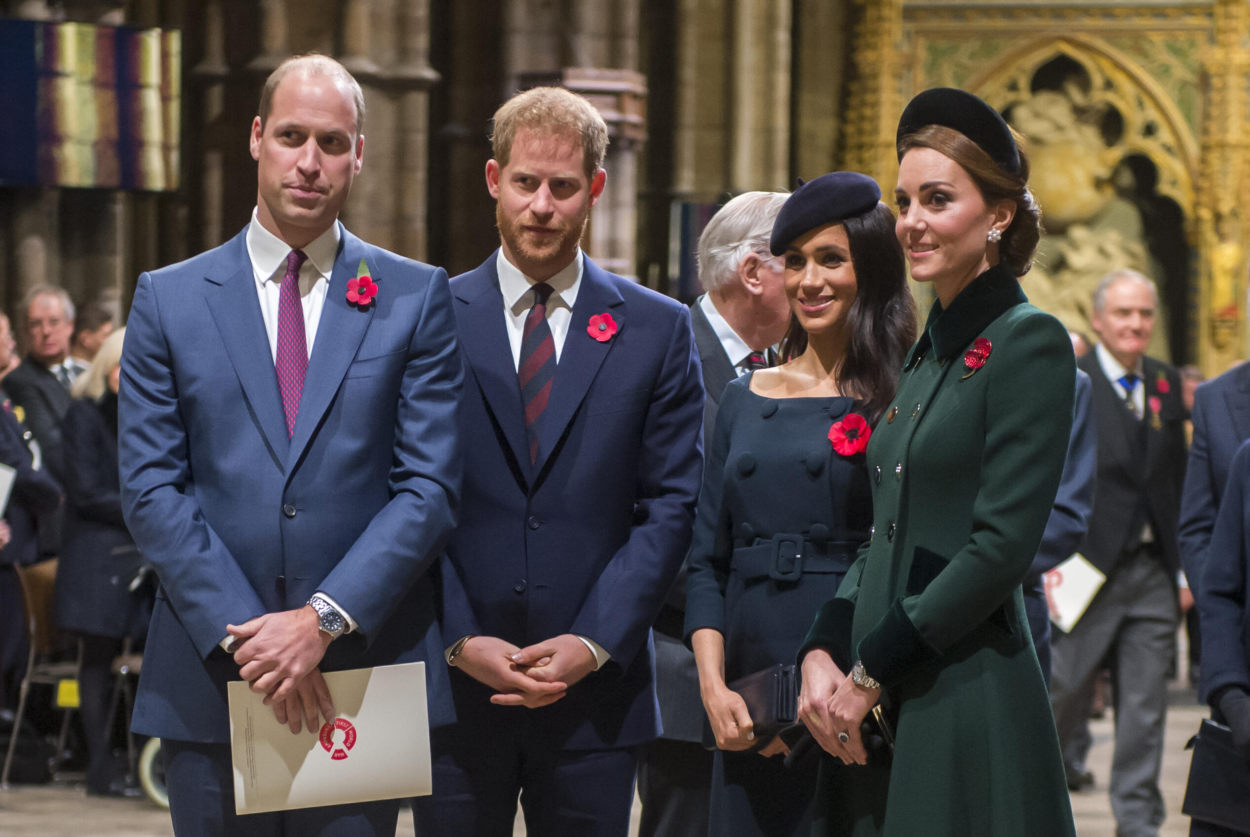 Princes William & Harry Are Feuding, Not Meghan Markle & Kate Middleton