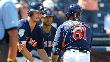 Matt Thomas - Astros Send Nine Players Down to Minor League Camp