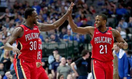 Louisiana Sports - Dirk Passes Wilt, But Pelicans Top Mavs In OT
