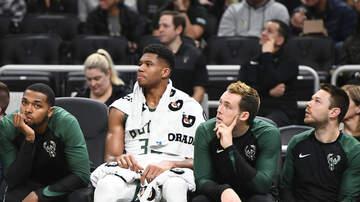 Bucks - Bucks to sit Giannis tonight vs. Lakers; no LeBron either