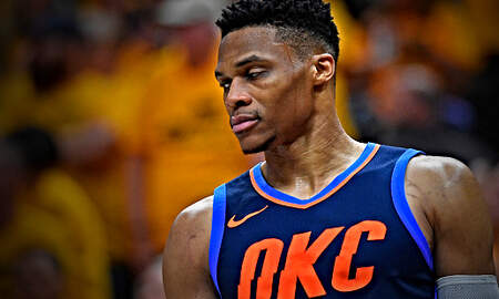 The Herd with Colin Cowherd - Russell Westbrook's DNA is to UNRAVEL on the Biggest Stages
