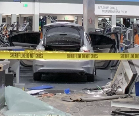 man Charged for Allegedly Crashing Car Into Gym in La Mirada