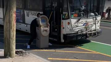 JJ Ryan - WATCH: Guy Tries To Board Bus With ATM Machine!