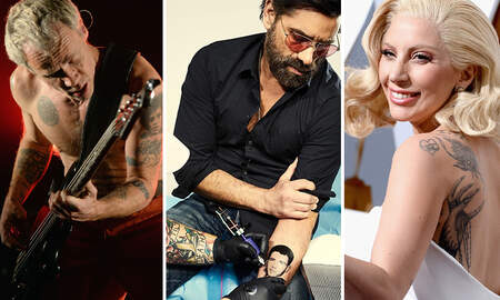Trending - The Stanning Is Real: 22 Celebrities With Celebrity Tattoos