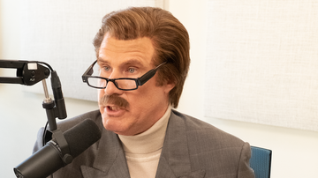 National News - Ron Burgundy Discusses Bullying with a 10-Year-Old on His Podcast
