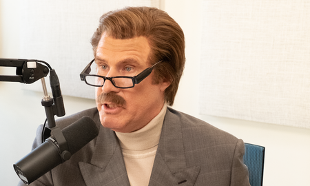 Music News - Ron Burgundy Discusses Bullying with a 10-Year-Old on His Podcast