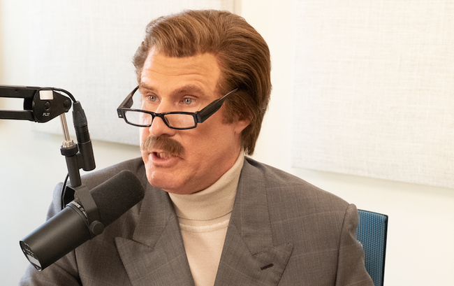 Ron Burgundy Discusses Bullying with a 10-Year-Old on His Podcast