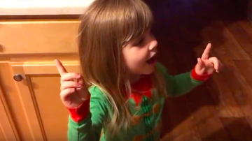 JB - ***VIDEO***Little Girl Lectures Her Mom About Kissing Dad