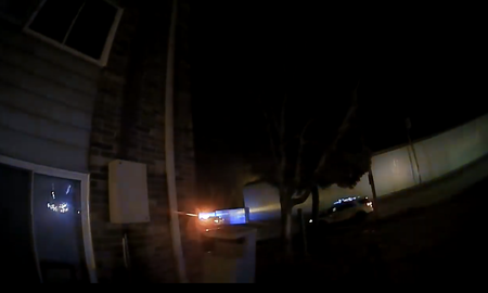 National News - Body Cameras Show Des Moines Police Catching Children From Burning Building