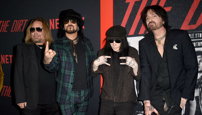 "Nikki Sixx Says Mötley Crüe Refused to ""Whitewash"" Its Story For 'The Dirt'"