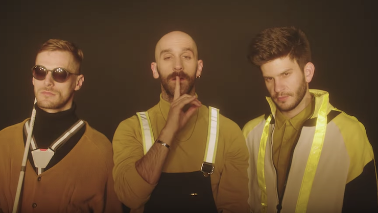 X Ambassadors Create Audio-Only 'Boom' Video For The