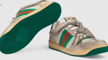 Qui West - WTF: Gucci Is Selling $870 Sneakers That Look Dirty!