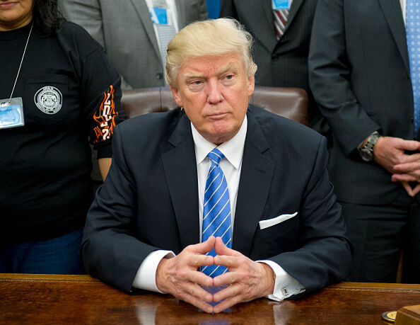 President Trump Meets With Union Leaders