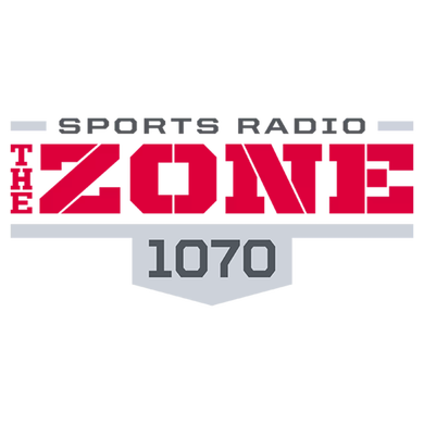 1070 The Zone logo