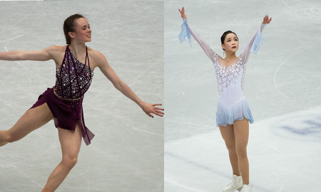 National News - U.S. Figure Skater Mariah Bell Accused of Cutting South Korean Rival