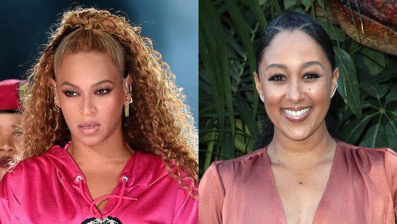 Beyoncé Fans Are Attacking Tamera Mowry For Saying She Flirted With JAY-Z