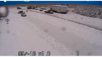 NewsRadio WKCY - News NOW  - VSP confirm that between 50 and 75 vehicles are stuck on Rt. 33