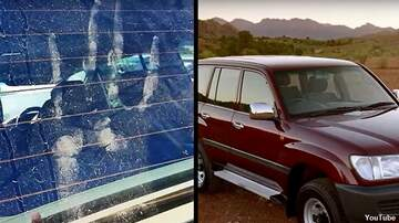 Coast to Coast AM with George Noory - Yowie Handprint Found on Jeep?
