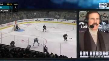Sean Salisbury - WATCH: Ron Burgundy Does Play By Play for NHL Game