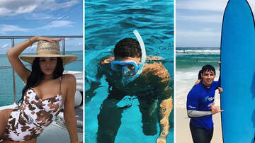 Trending - 20 Celebs Workin' It On The Beach
