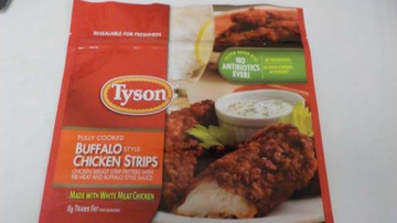 National News - Tyson Foods Recalling 69,000 Pounds of Frozen Chicken Strips