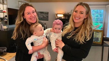 Trending - Hilary Duff & Sister Haylie's Daughters Look Too Cute In Matching Onesies