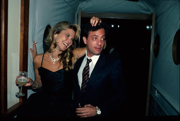 Billy Joel [& Wife #2];Christie Brinkley