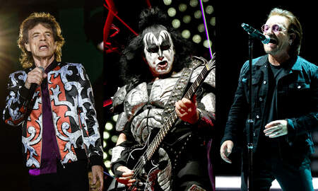 Rock News - Gene Simmons Knocks Bono, Mick Jagger For Not Working As Hard As KISS
