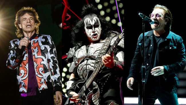 Gene Simmons Knocks Bono, Mick Jagger For Not Working As Hard As KISS