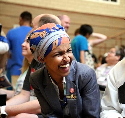Watch: Flashback 2013: Rep Omar Thinks Terrorism Is Hilarious (video)