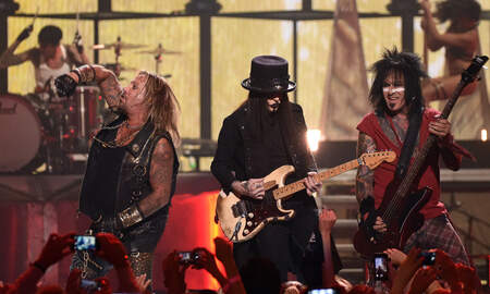 Rock News - Mötley Crüe Reveals Two New Songs In Celebration Of 'The Dirt' Premiere