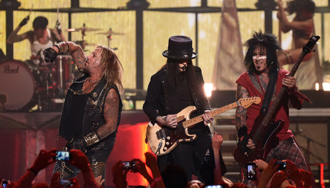 Mötley Crüe Reveals Two New Songs In Celebration Of 'The Dirt' Premiere