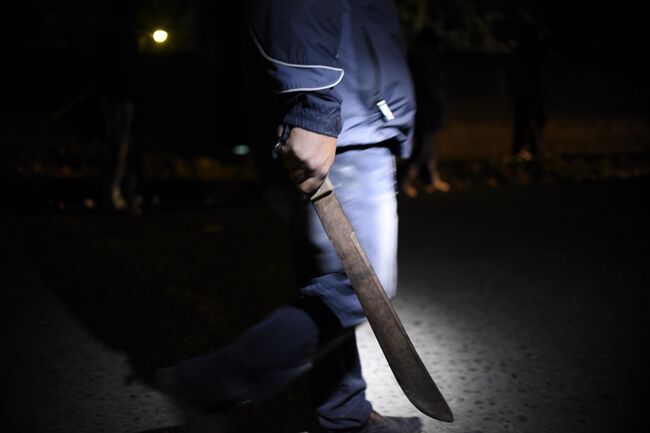 A Machete Fight Went Down During A Robbery Attempt