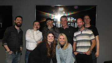 Photos - Brantley Gilbert in the AT&T Thanks For Listening Lounge at Whistle 100!