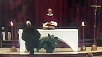 Chuck Dizzle - Priest Gets Stabbed While Leading Televised Mass