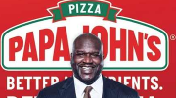 Chuck Dizzle - Shaquille O'Neal Is The New Face Of Papa John's Pizza
