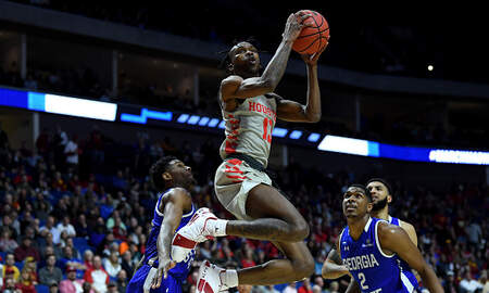 Houston Sports News - March Madness: UH Blows Out Georgia State, Next Up is Ohio State in Round 2