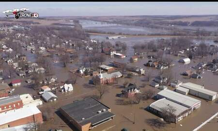 WOC Local News - President Trump declares Major Disaster in 56 Iowa Counties