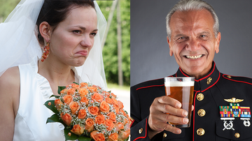 Trending - Angry Bride Kicks Veteran Out Of Wedding For Wearing His Uniform