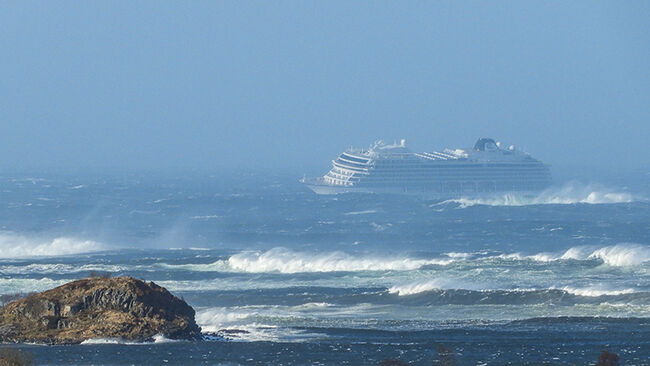 TOPSHOT-NORWAY-TRANSPORTATION-SEA-ACCIDENT