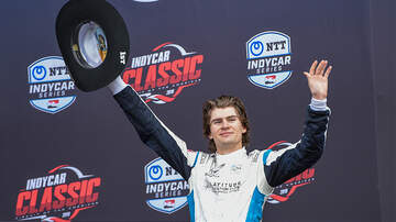 Sports Top Stories - 18-Year-Old Indycar Winner Celebrates Victory With Sparkling Wine