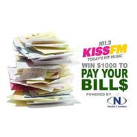 Pay Your Bills! 16 chances to win each weekday!!