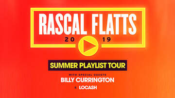 None - Rascal Flatts Summer Playlist Tour Charlotte & Raleigh