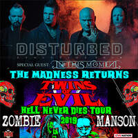 Enter In For Tickets to Rock Fest on 9/2 & 9/3 with Marilyn Manson, Rob Zombie, and Disturbed!